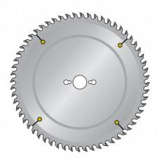 Пильный диск для древесно-плитных материалов, ЛДСП, ДСП, МДФ, пластика с дуплообразным зубом DIMAR 350x30x3.2/2.2x72 90110306