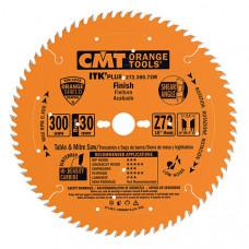 Пильный диск ультратонкий для поперечного реза CMT 136x20/10x1.5/1.0x36 272.136.36H