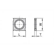 Пластина твердосплавная сменная Ceratizit 18x18x1.95 мм KCR08 11773916