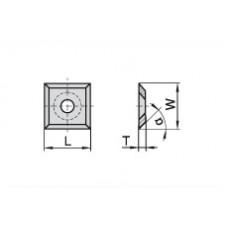 Пластина твердосплавная сменная Ceratizit 13.6x13.6x2.0 мм CTOPP10 12054629