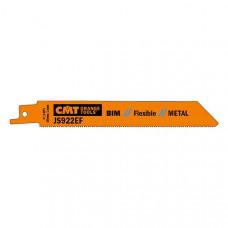 Пилки сабельные 5 штук для металла BIM 150x1,4x18TPI CMT JS922EF-5