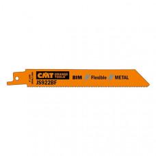 Пилки сабельные 5 штук для металла BIM 150x1,8x14TPI CMT JS922BF-5