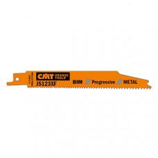 Пилки сабельные 5 штук для металла BIM 150x1,8-3,2x8-14TPI CMT JS123XF-5