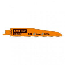 Пилки сабельные 5 штук для металла BIM 150x2,9x9TPI CMT JS920CF-5