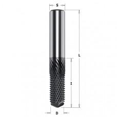 Фреза монолитная рашпильная для композитных материалов CMT 12x25x75x12 151.120.25D