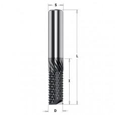 Фреза монолитная рашпильная для композитных материалов CMT 12x25x75x12 151.120.25E