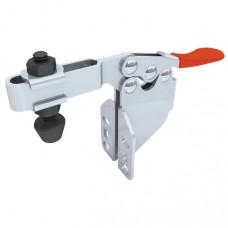 Зажим механический с горизонтальной ручкой с площадкой для вертикального крепления усилие 90 кг GH-201-BSM