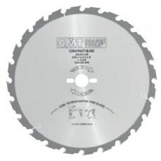 Пила строительная для древесины с гвоздями CMT 250x30x2.8/1.8x16 286.016.10M