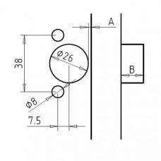 Приспособление для сверления для малых петель CMT CMT333-3875