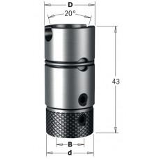 Патрон Morbidelli для сверл CMT B10 D19.5 S20 RH-LH 360.201.00