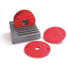 Набор из 5-ти колец для крепёжной пластины электрофрезера (PRS3034, PRS3036, PRS3038) Kreg PRS3050
