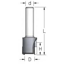 Сверло пробочное с твердосплавной напайкой 10x16x58x6 MNT1003